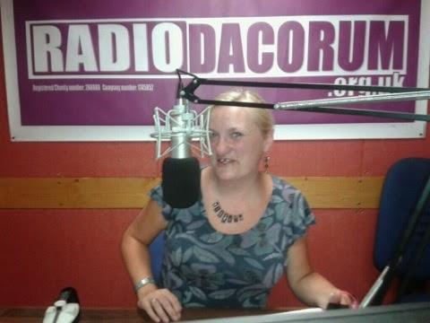 madmumof7 on air at radio dacorum