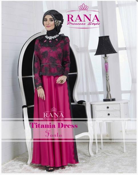 Contoh Foto Baju Muslim Modern Terbaru 2016 15 Contoh