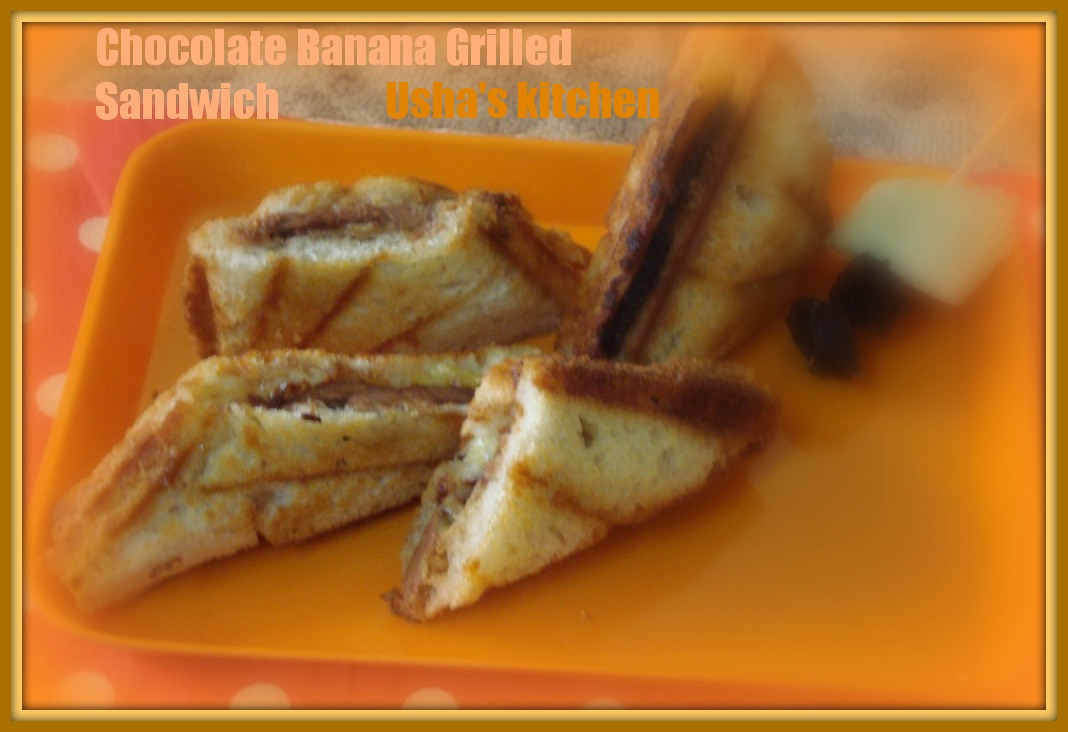 USHA'S KITCHEN: Have u ever tried a grilled sandwich with ...