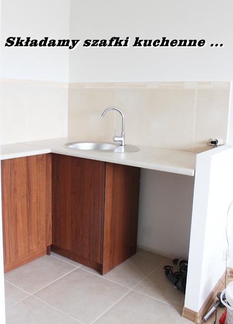 szafki kuchenne jak złożyć jak zamówić,kuchnia na wymiar,składamy kuchnię,remont,blog DIY wnętrza