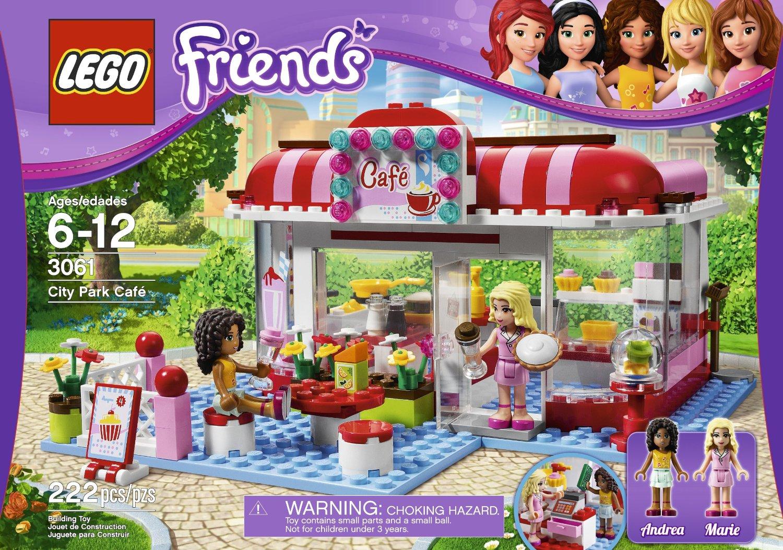 Lego Friends City Park Cafe 3061 My Lego Style