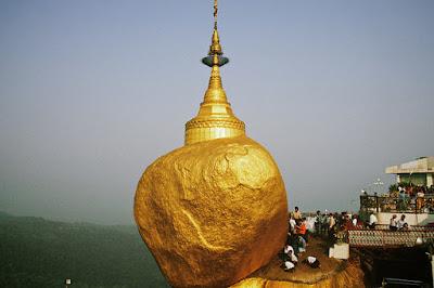 Pagoda Kyaiktiyo - Roca dorada