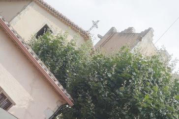 La rectoria i l'esglèsia