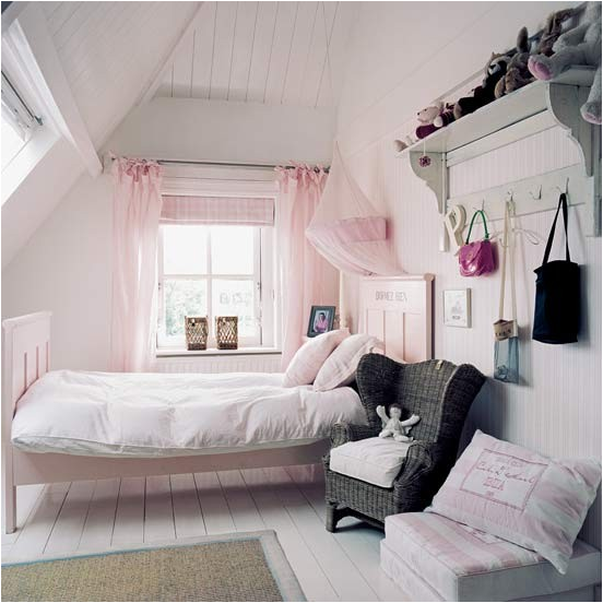Vintage style teen girls bedroom ideas room design for Bedroom designs vintage