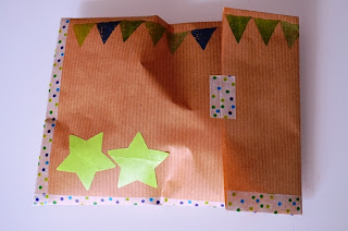 sobres decorados para regalito