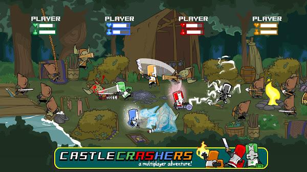 castle crashers pc español