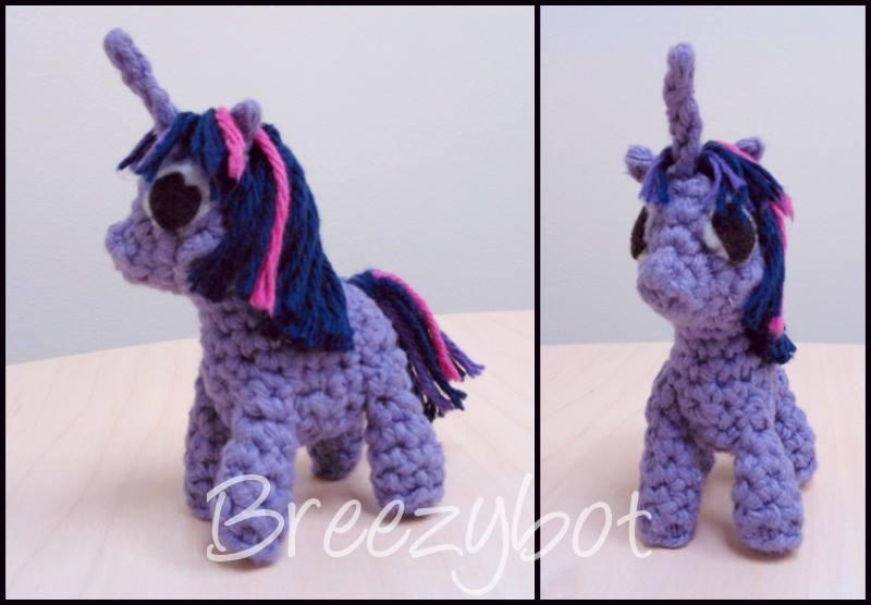 My Little Pony Amigurumi Pattern Free : Breezybot: FREE PATTERN My Little Pony Inspired Amigurumi