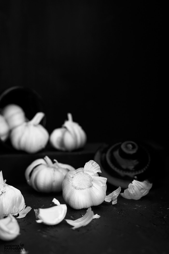 Black and White WednesdayWeek #159    Garlic  #bwfood, #monochrome, #garlic