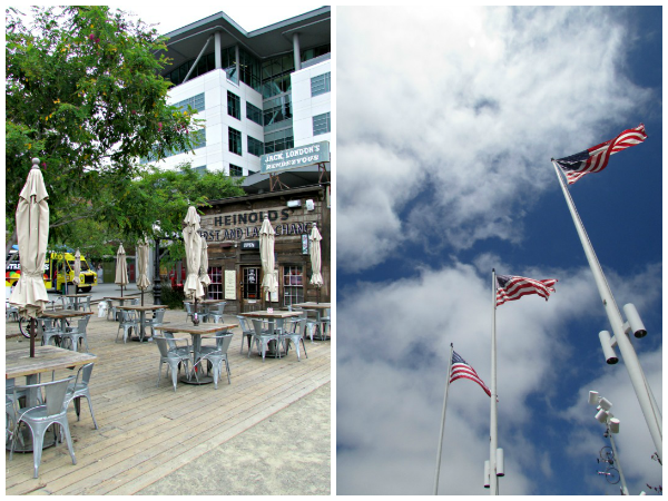 Jack London Square // First & Last Chance Saloon