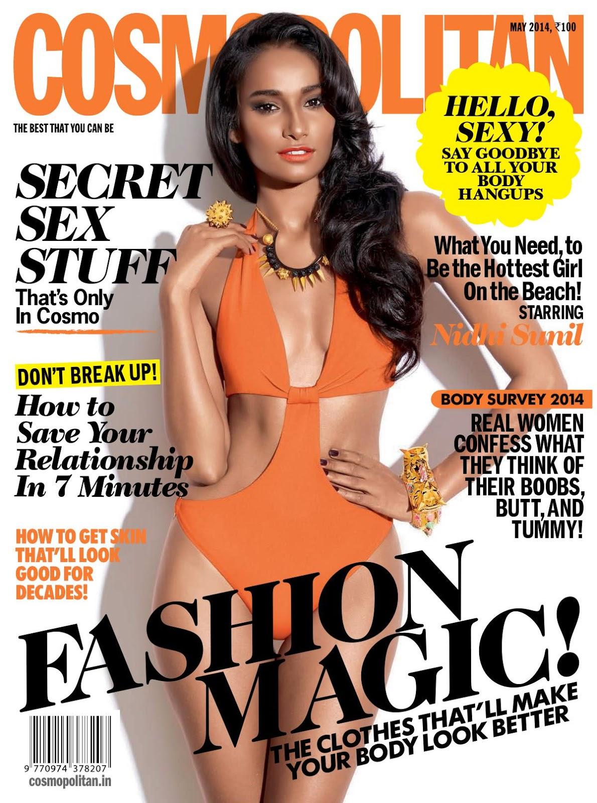 Nidhi Sunil For Cosmopolitan Magazine, India, May 2014