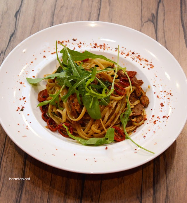 Double Cooked Duck Linguine - RM18.80