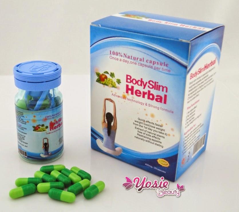Obat Pelangsing Body Slim Herbal 100% Alami dan Terbukti (Capsule)