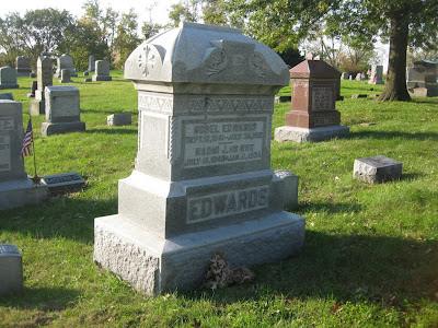 Edwards ancestors Delaware County Ohio