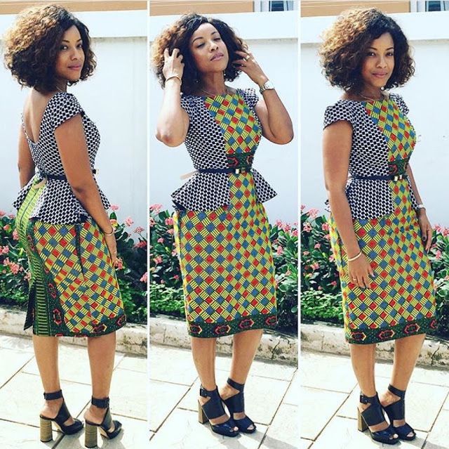 Nigerian Ankara Fashion Style Simple And Creative Ankara Style Debonke House Of Fashion