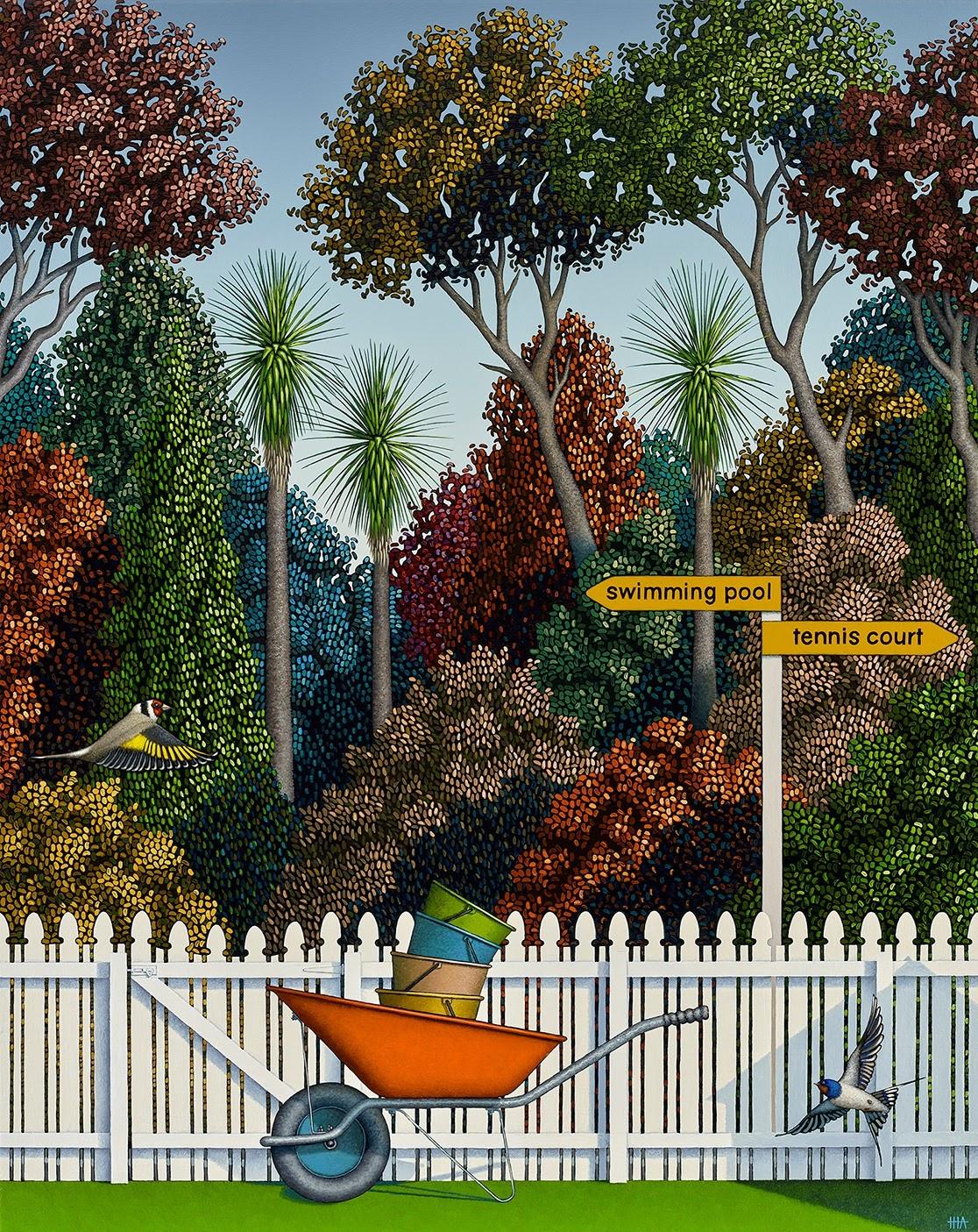 Hamish Allan Lazy bones and the pleasure garden