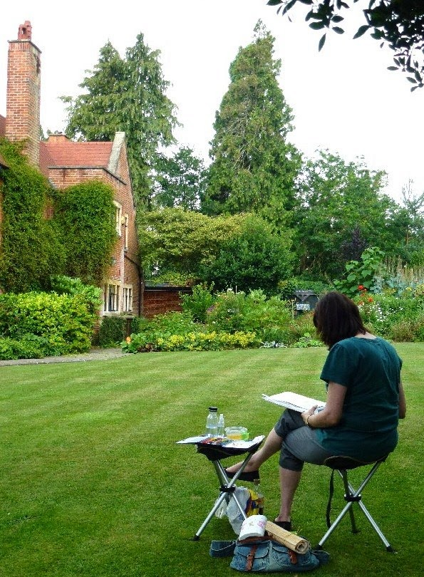 En Plein Air Cheslyn House