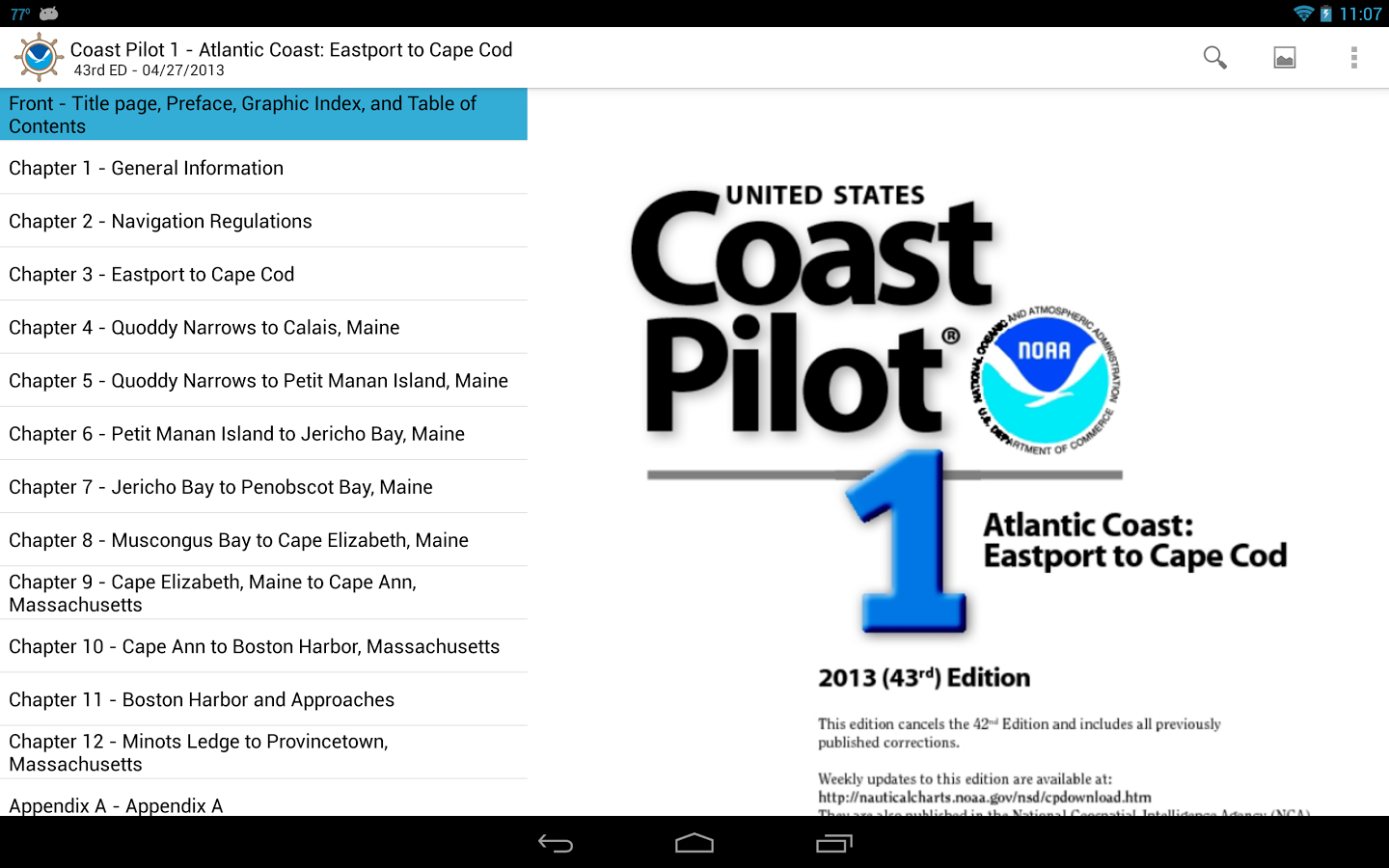 I marine apps mynoaacharts the app is only available on android tablets at this time if there is enough interest they will expand the app to other devices and include all noaa charts geenschuldenfo Image collections