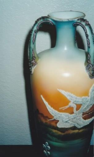 Masterpiece Fine Art Restoration A Nippon Moriage Birds In Flight