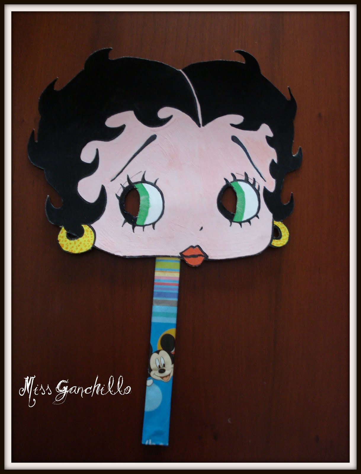 Careta   M  Scara  Betty Boop  Para Ni  Os