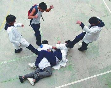 ¿En qué curso es más grave la violencia escolar?