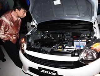 Mesin Toyota Agya