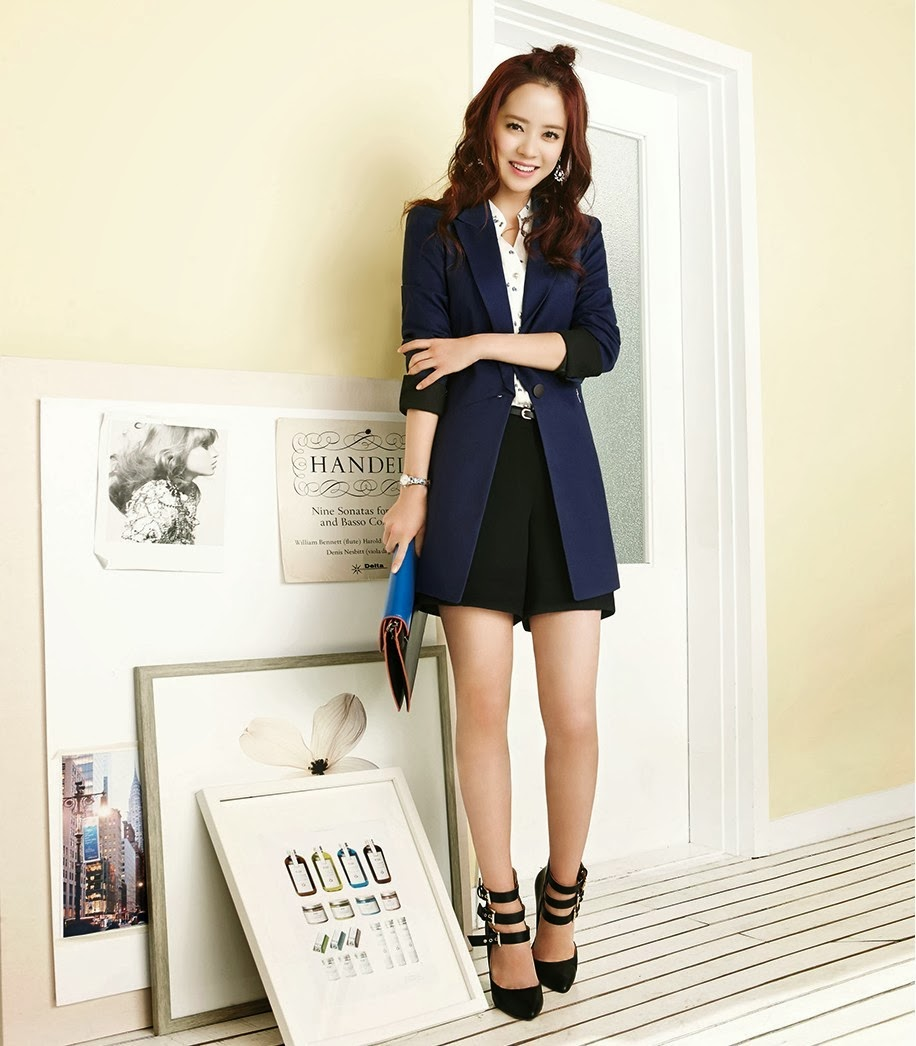Song Ji Hyo - Yesse Spring 2014