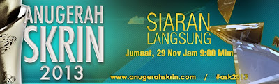 Live Streaming Anugerah Skrin ASK 2013 TV3 Online