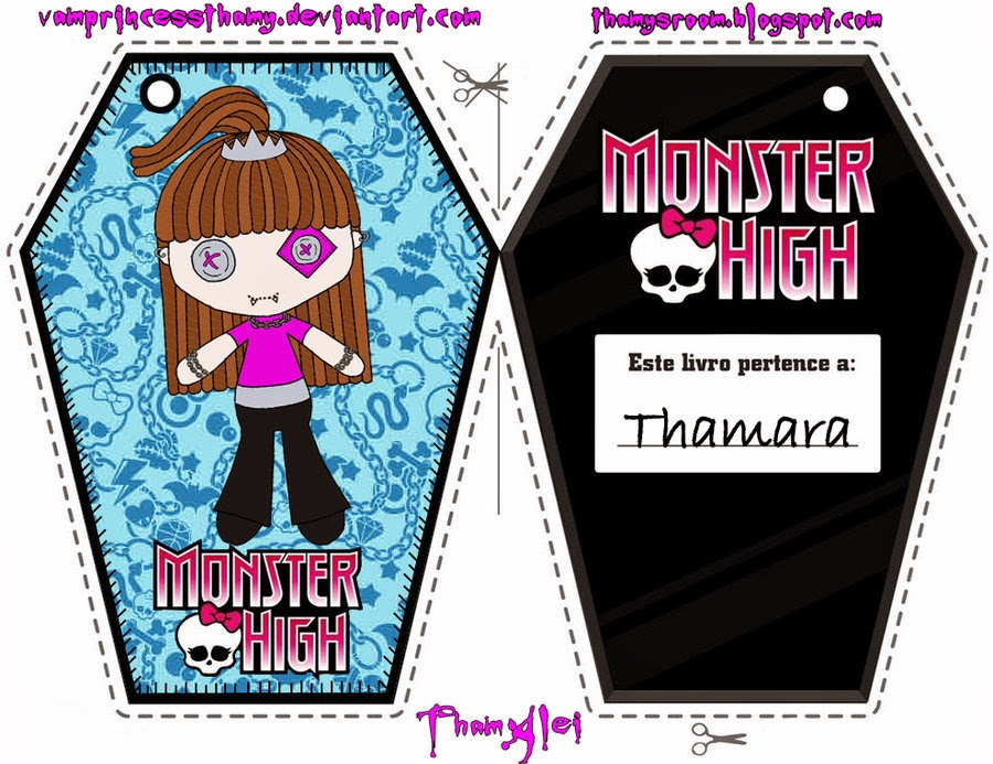 Worksheets Free Monster High Printable Activities free printable bookmarks of monster high oh my activities for kids by sgamj