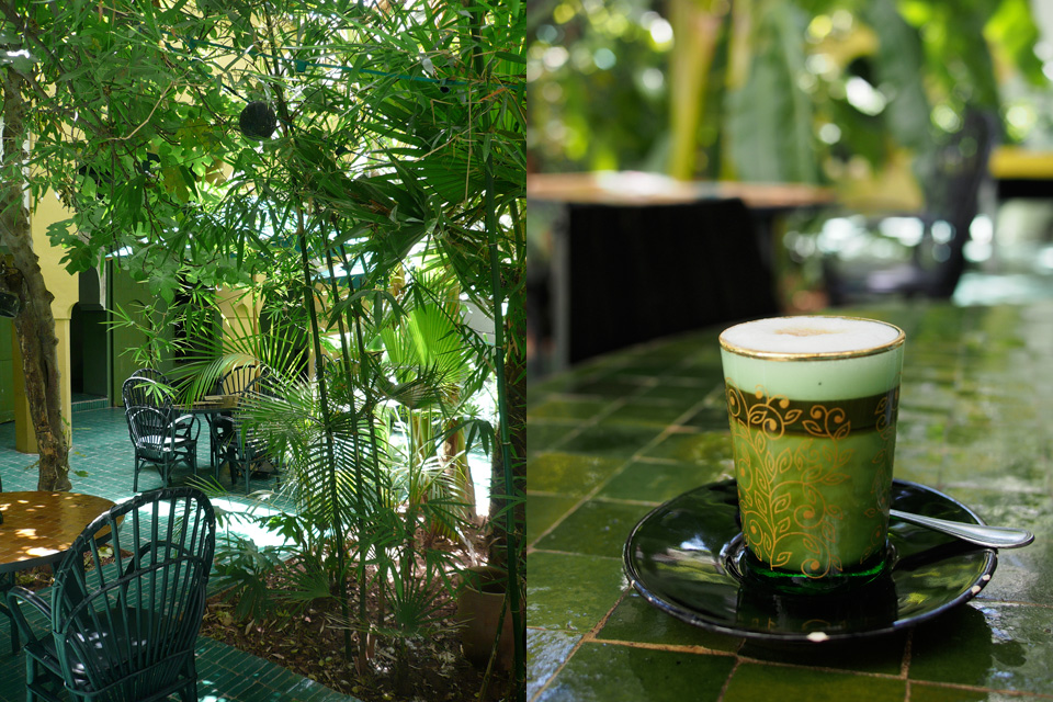 Le jardin cama eu de vert dar kawa for Le jardin custine
