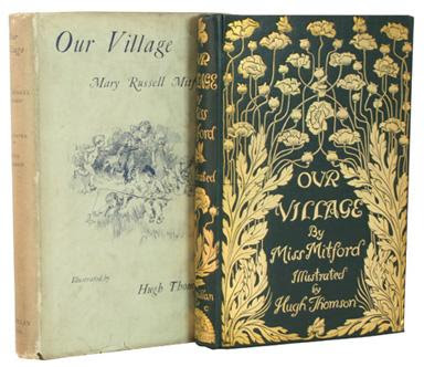 Our Village, by Mary Mitford. London: Macmillan & Co., 1893