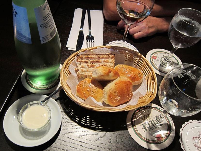 Genussbereit slow food besuch im jüdischen restaurant matzen
