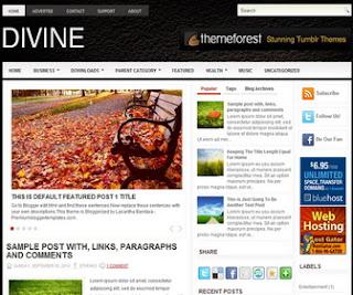 Divine Blogger Template
