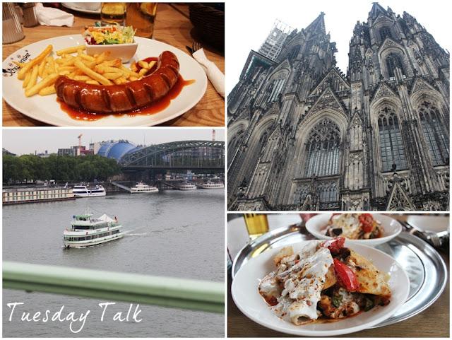 Bilder aus Köln: Currywurst, Kölner Dom, Rhein, Beyti
