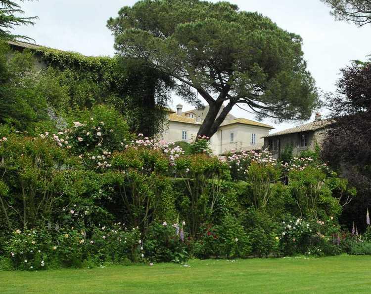 Jardines de italia en el nombre de la rosa for Jardines italianos