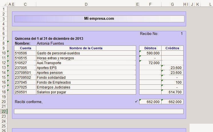 Descargar liquidacion excel nomina colombia for Liquidacion de nomina excel 2016