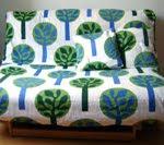 Copri divano e terstiera con Ikea