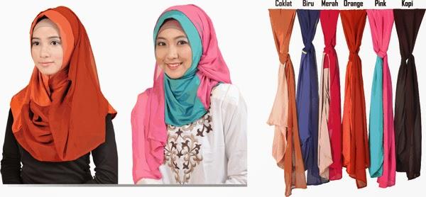 berbagai pilihan jilbab modern