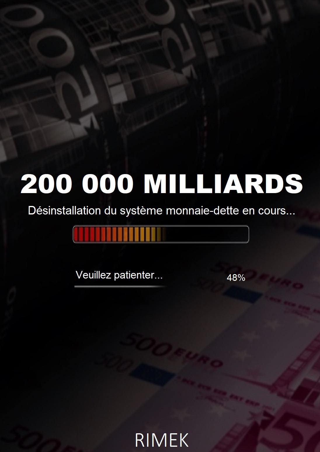 "Livre "" 200 000 milliards """