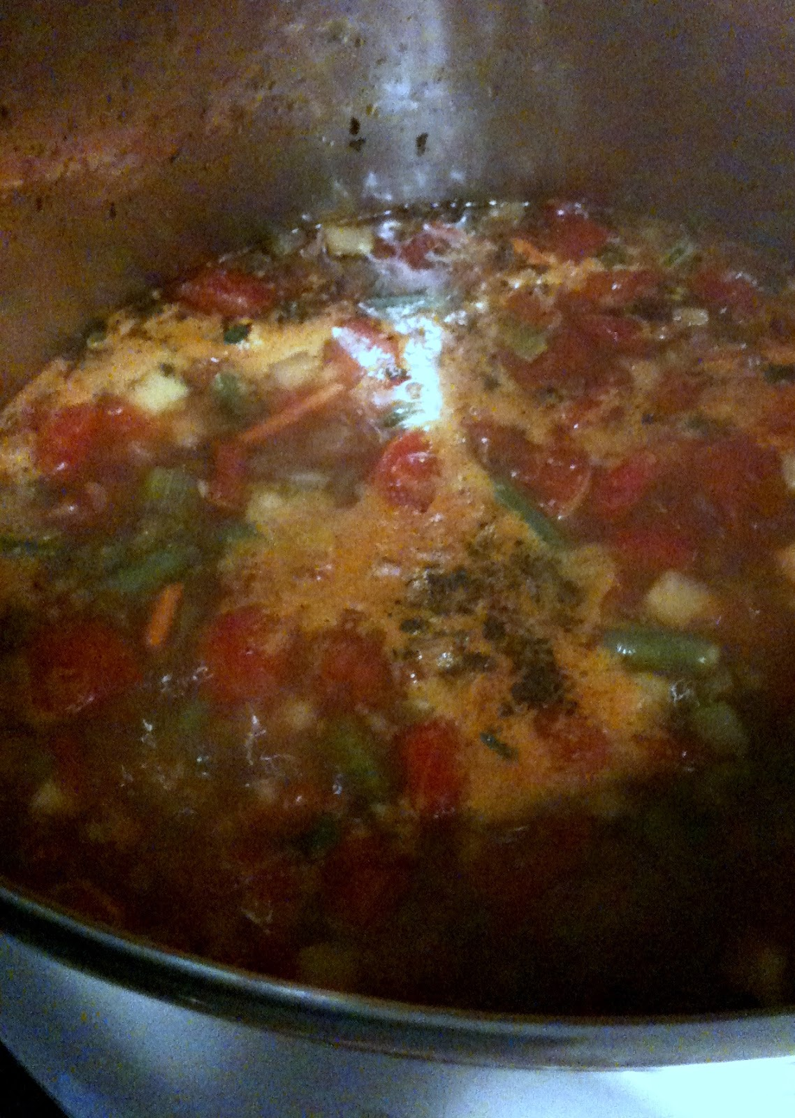 Olive Garden\' Minestrone Soup   Leftover Time
