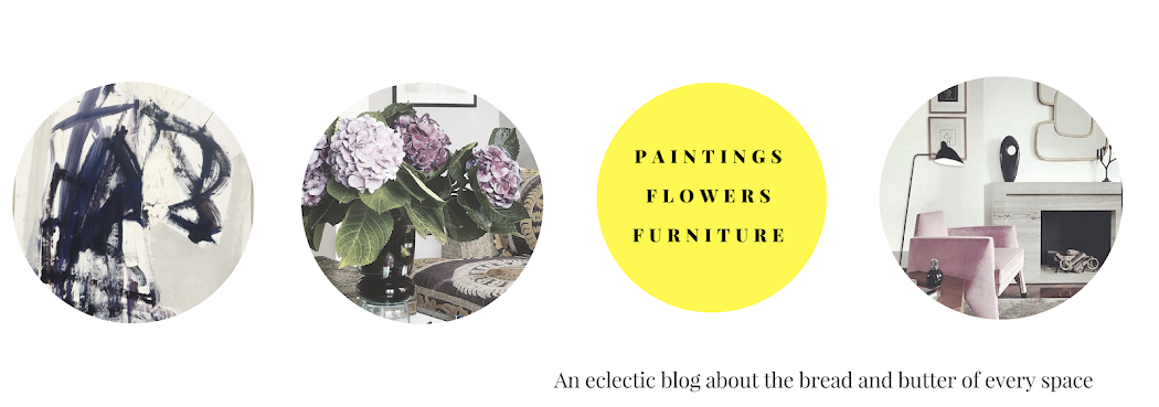 Paintings, Flowers and Furniture