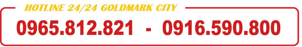 Những dự án goldmark city hồ tùng mậu giá tốt như nào