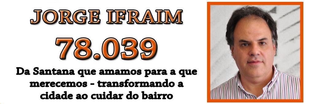 Conselho Participativo Municipal   -  Candidato no. 78039   -   JORGE IFRAIM