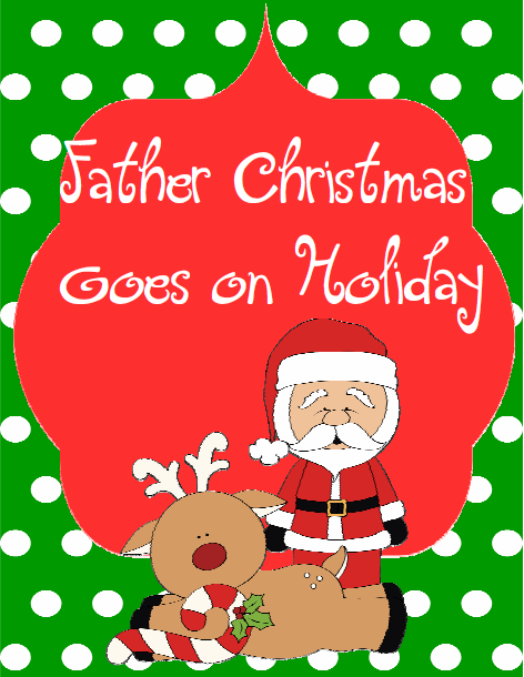 http://www.teacherspayteachers.com/Product/Writing-and-Character-ExplorationFather-Christmas-Goes-on-Holiday-Activity-Pack-478179