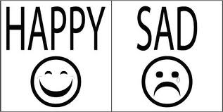 happy, sad, en ingles, video