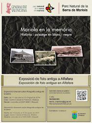 """Exposició """"Mariola en la memòria, història i paisatge en blanc i negre""""."""