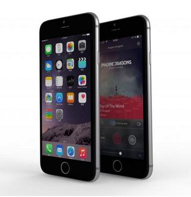 Kloningan iPhone 6 dengan Interface Mirip iOS