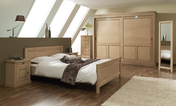 Art d co chambre a coucher casanaute - Decoration chambre mansardee adulte ...