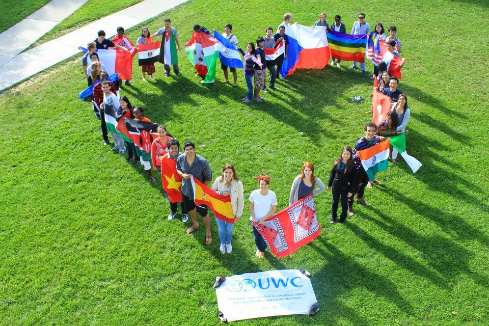 UWC Heart of Flags