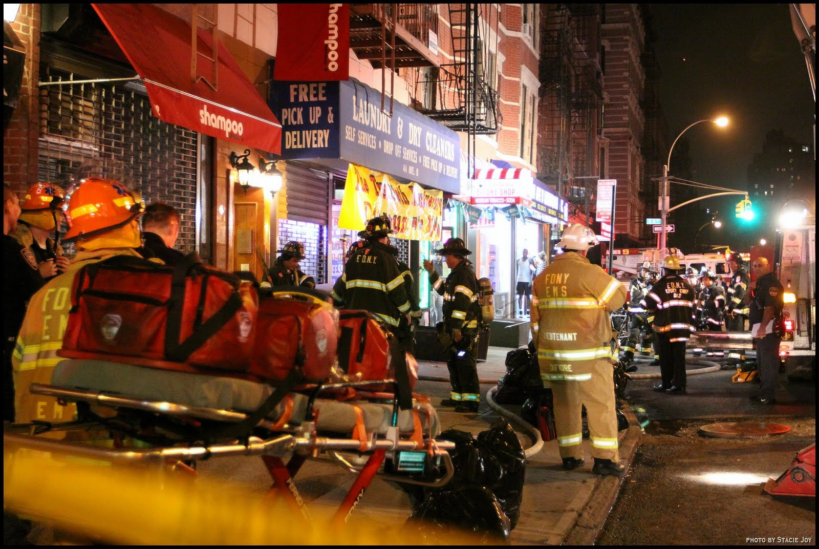 EV Grieve: Update on last night\'s Avenue B laundromat fire