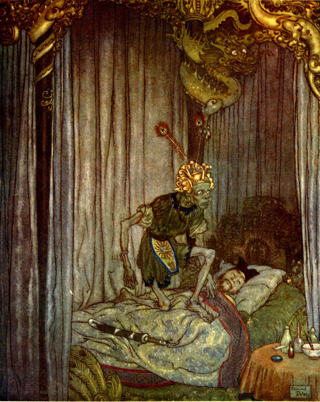 edmond dulac illustration